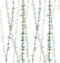 Bamboo plant leaves pattern-01 vector