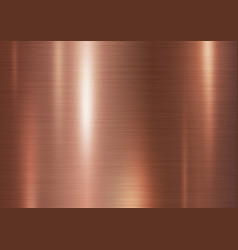Copper metal texture background vector