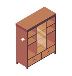 Cupboard vector