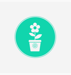 flower icon sign symbol vector image