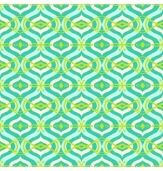 Pattern with Arabic motif in bright color vector