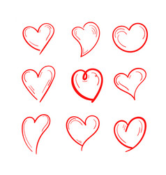 set love design vector image