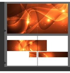 Brochure Template Business vector image