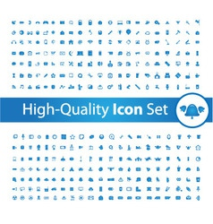 Media icon set High vector image