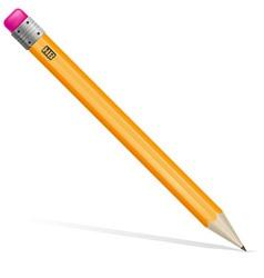 pencil 01 vector image vector image