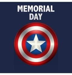 memorial day usa vector image