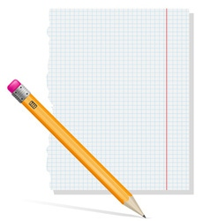pencil 02 vector image vector image