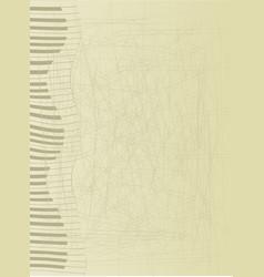 Abstract keyboard vector