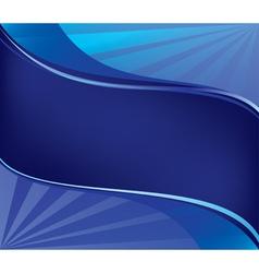 background wavy elements vector image