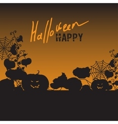 Background with halloween vector
