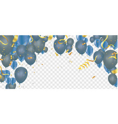 Celebration party background with balloons and vector