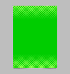 green abstract halftone geometric circle and vector image