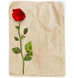 Happy Valentines Day background EPS 10 vector image