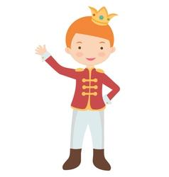 Prince vector image