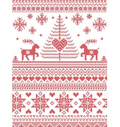 Scandinavian style and Nordic Pattern vector