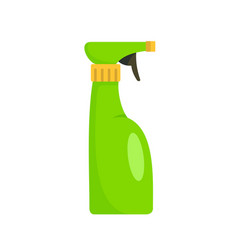 Spray bottle icon flat style vector