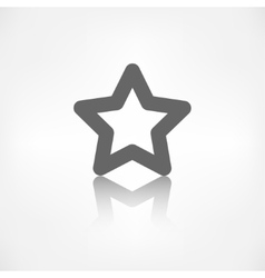 Star favorite sign web icon vector image