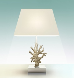 The Lamp vector image