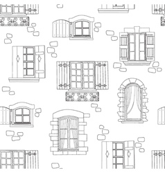 window seamless vector image