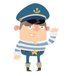 sailor vector image vector image