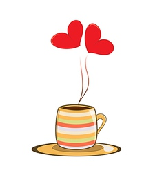 love cup vector image
