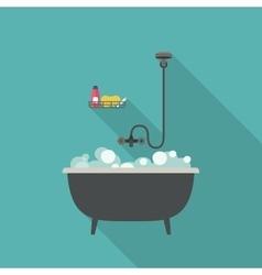 Bath vector image vector image