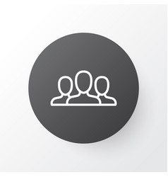 Customers icon symbol premium quality isolated vector