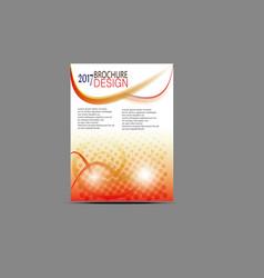 flyer templates design brochure vector image