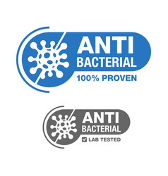 Antibacterial 100 percents proven and tested vector