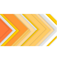 colored corners arranged in random order abstract vector image