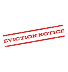 Eviction notice watermark stamp vector