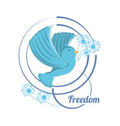 Freedom lifestyle design vector