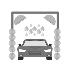Service Station vector image