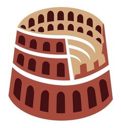 Colosseum vector image