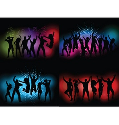 party themed backgrounds vector image