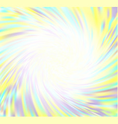 Swirling colorful blurred background vector