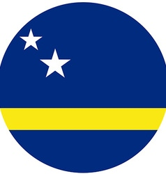 Curacao flag vector image vector image