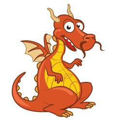 Dragon Cartoon vector image vector image