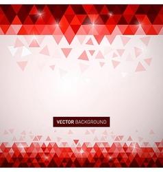 bg triangles vector image vector image