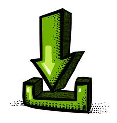 torrent internet vector images 85 rh vectorstock com vector torrent download