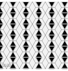 geometric abstract connection patterns vector image