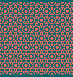 geometric seamless pattern simple colorful vector image