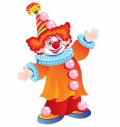 The celebratory clown vector
