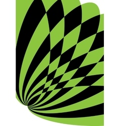 Black and green background for brochure or cover vector