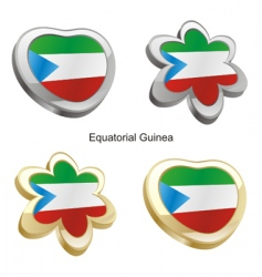 equatorial guinea vector image vector image
