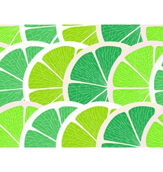 Lime segments seamless background vector image vector image