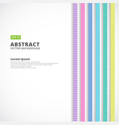 abstract vertical line pastel color retro style vector image vector image