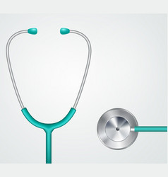 medical stethoscope vector image vector image