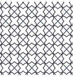 Arabic geometric ornament vector