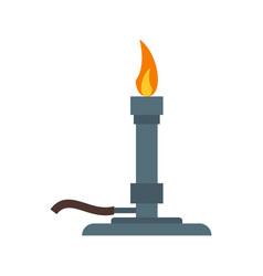 Bunsen burner vector